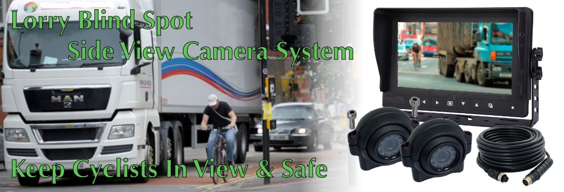 Lorry side view camera system
