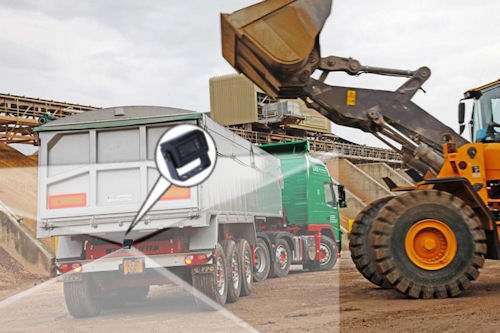 Rear View Camera for Tipper Lorry