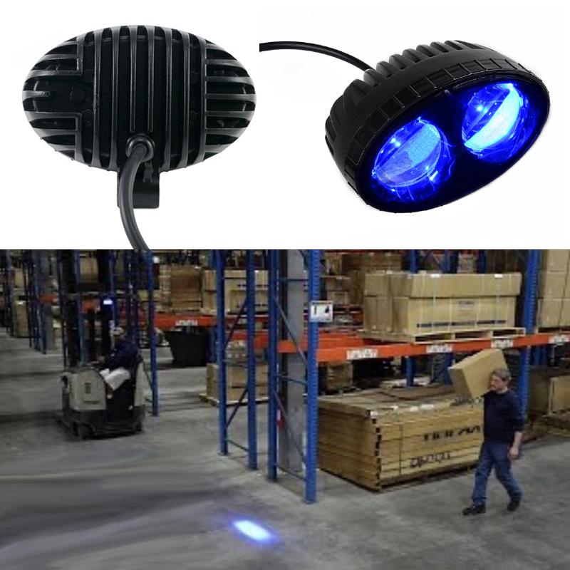 Forklift Truck Blue Safety Spotlight