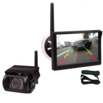 5in screen mounted monitor wireless reversing camera system