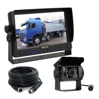 7in monitor truck reversing camera system