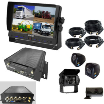 Truck / Tractor 4 camera DVR with HDD